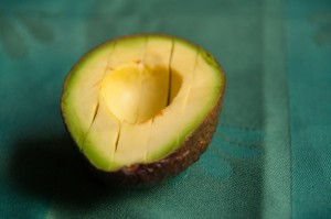 avocado snijden reepjes
