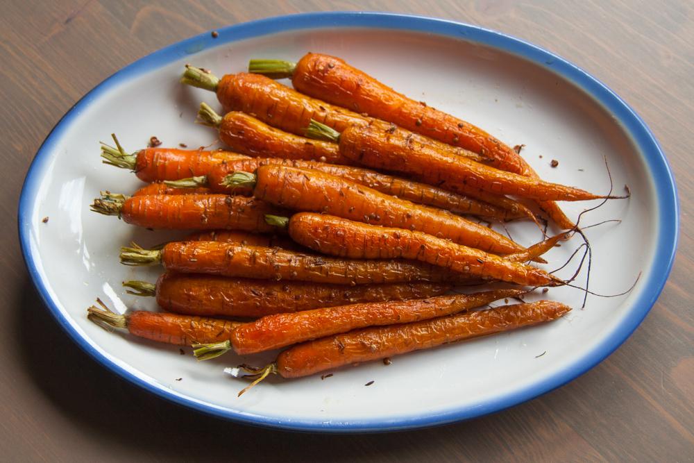 Geroosterde wortels