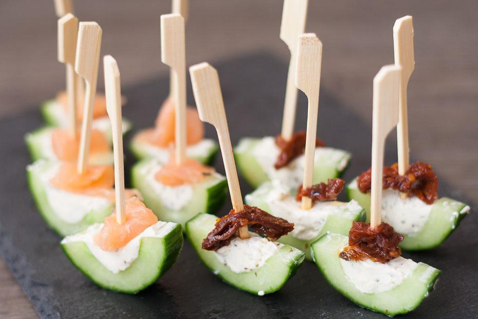 Komkommerschuitjes