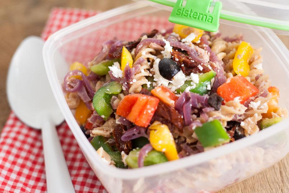 Griekse pastasalade | lekker op weg