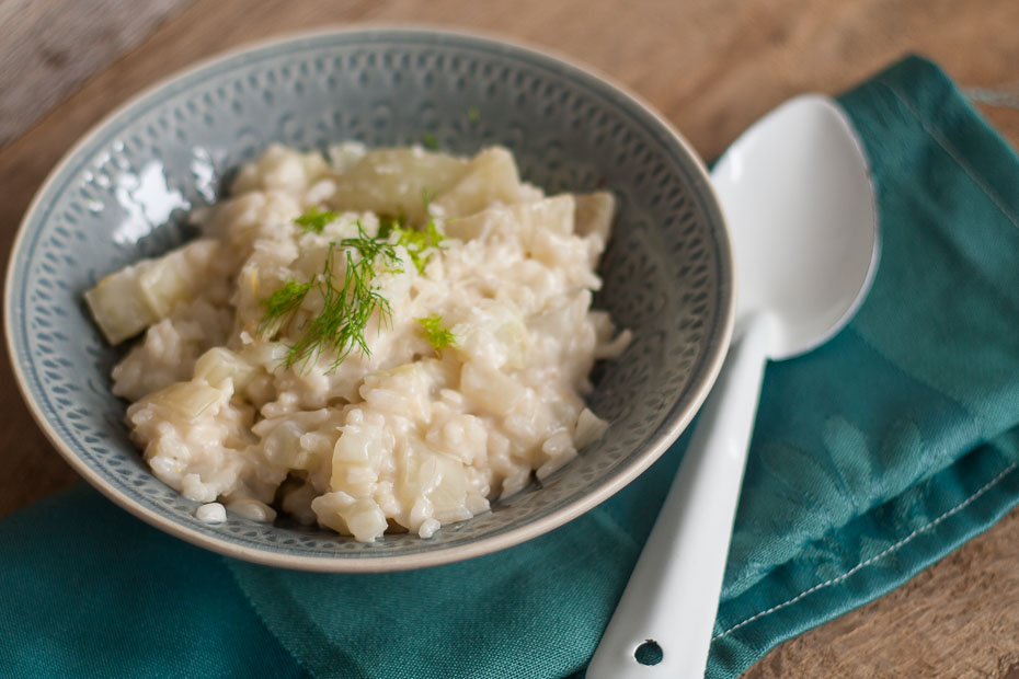 risotto met venkel en citroen