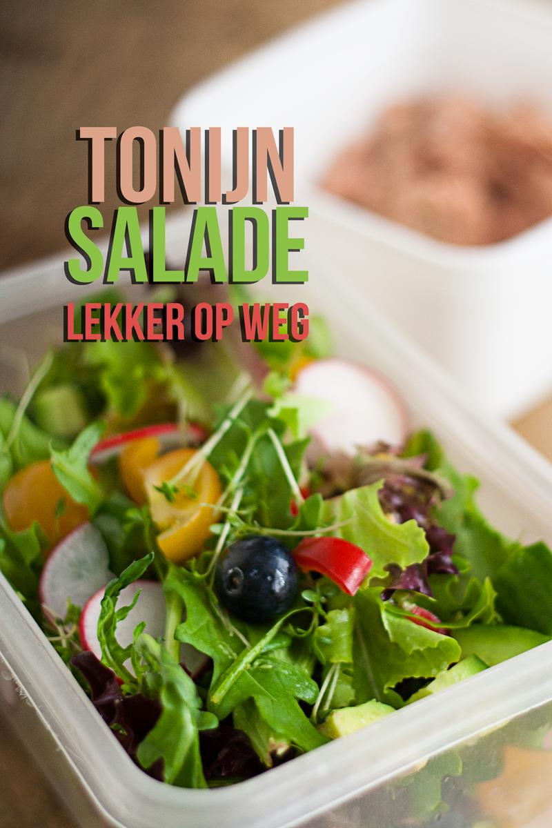 tonijn salade | lekker op weg