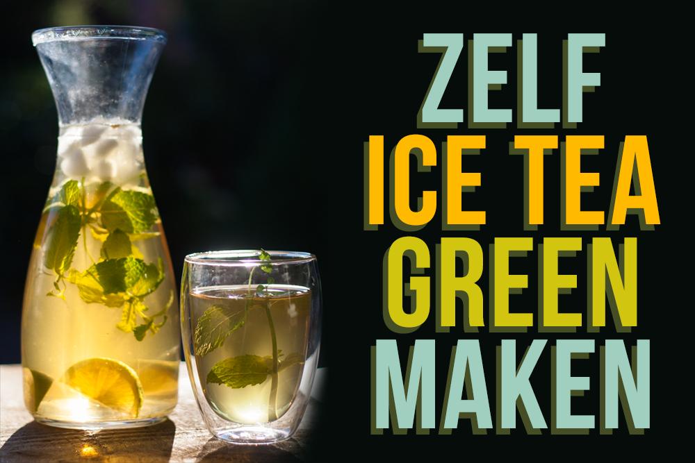 zelf ice tea green maken