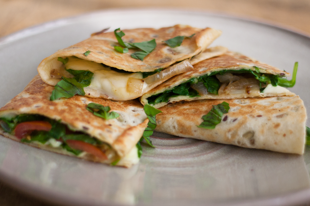 Zomerse quesadillas