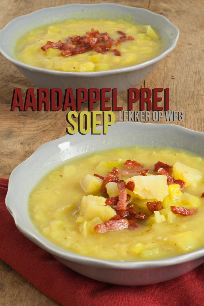 Aardappel prei soep | lekker op weg