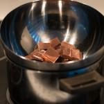 Vegetarisch kerstmenu nagerecht: chocolade semifreddo met pistache