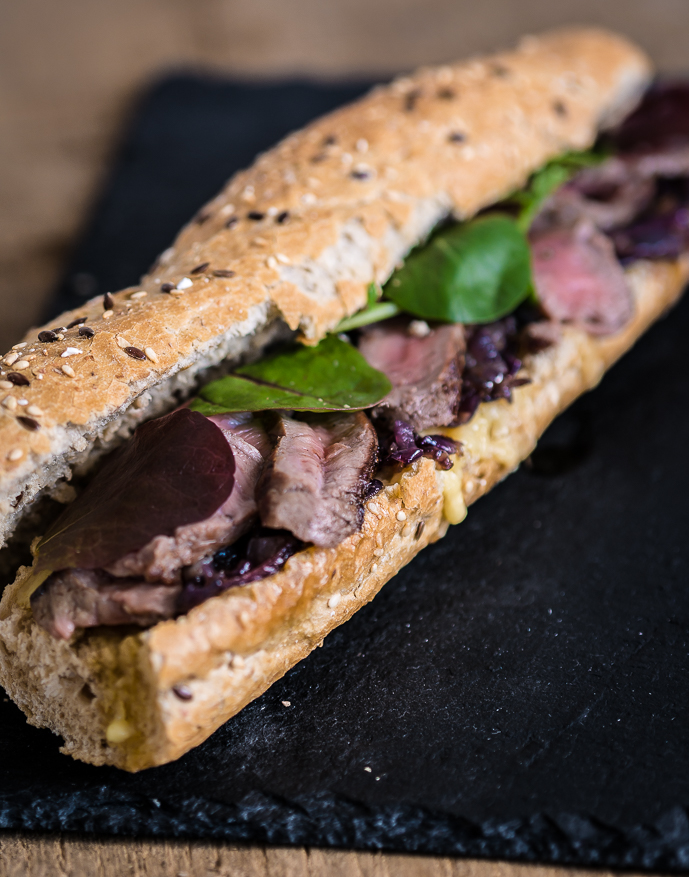 Het ultieme broodje biefstuk