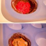 karamel moelleux met frambozen