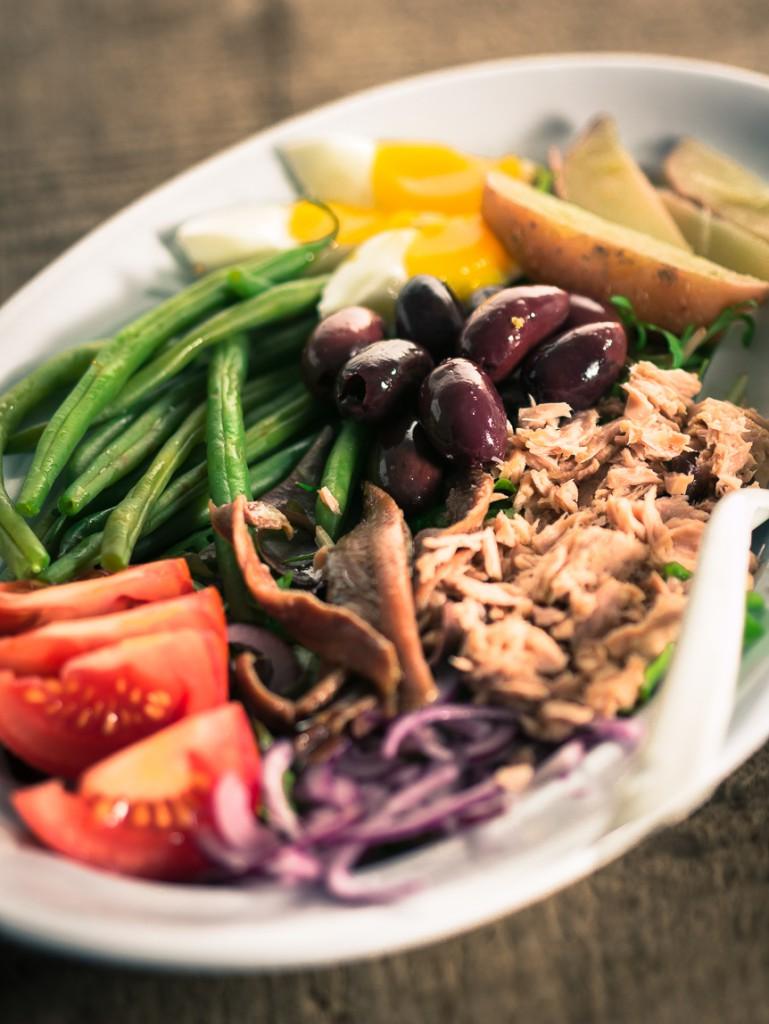 Budget salade niçoise