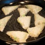 Vegetarische samosas - stap 8