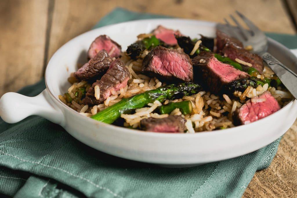 Beef teriyaki wokschotel