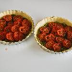 Mini tomatentaartje