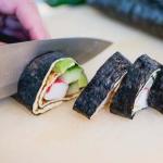 Omelet sushi