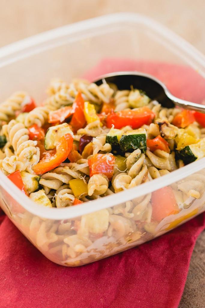 pastasalade geroosterde groente (2 van 2)