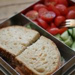 3 snelle lunchboxen: wrap hapjes lunchbox : sandwich lunchbox
