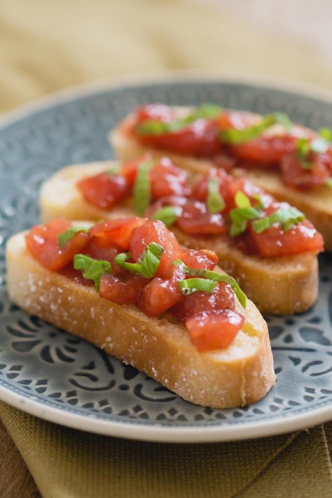 Tomaten bruschetta