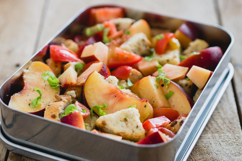 Zomerse panzanella |Lekkere lunchbox