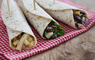 3 snelle lunch wraps