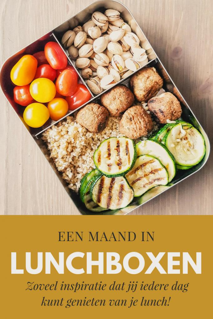 Een maand in lunchboxen | Maart 2017