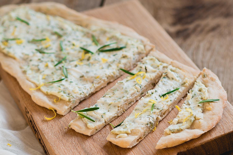 Ricotto platbrood | Paasdiner voorgerecht